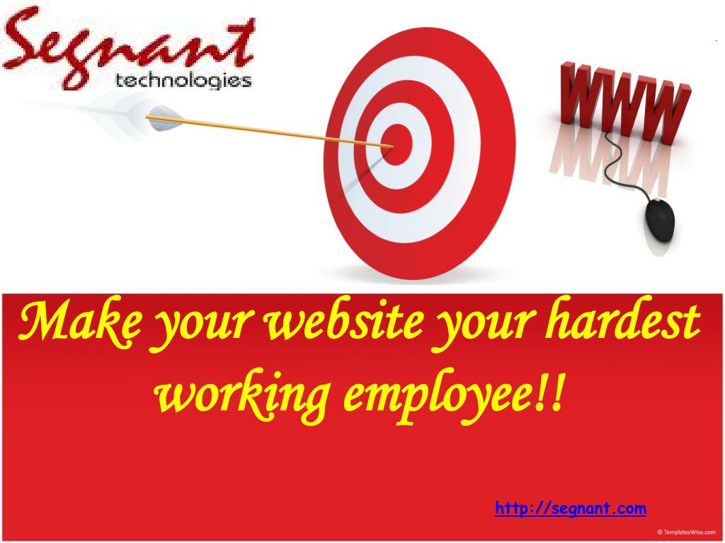 Make your website your hardest working employee!!