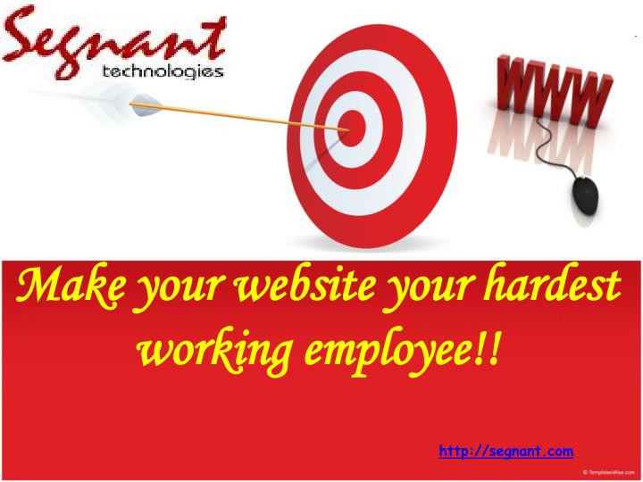Make your website your hardest working employee