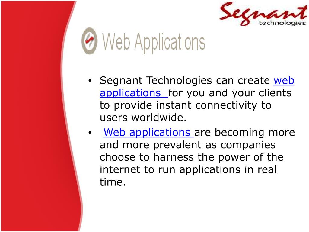 Segnant Technologies can create