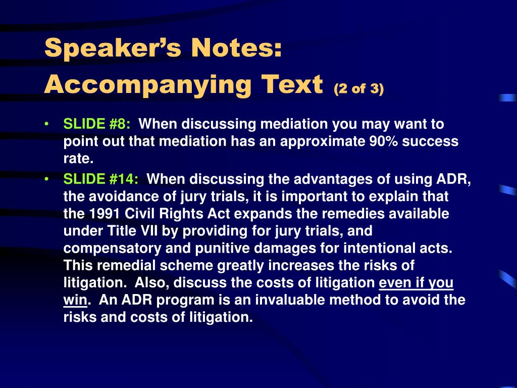 Speaker's Notes:  Accompanying Text