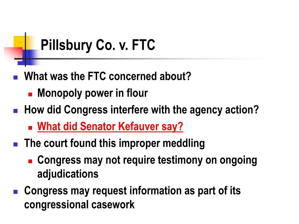 Pillsbury Co. v. FTC