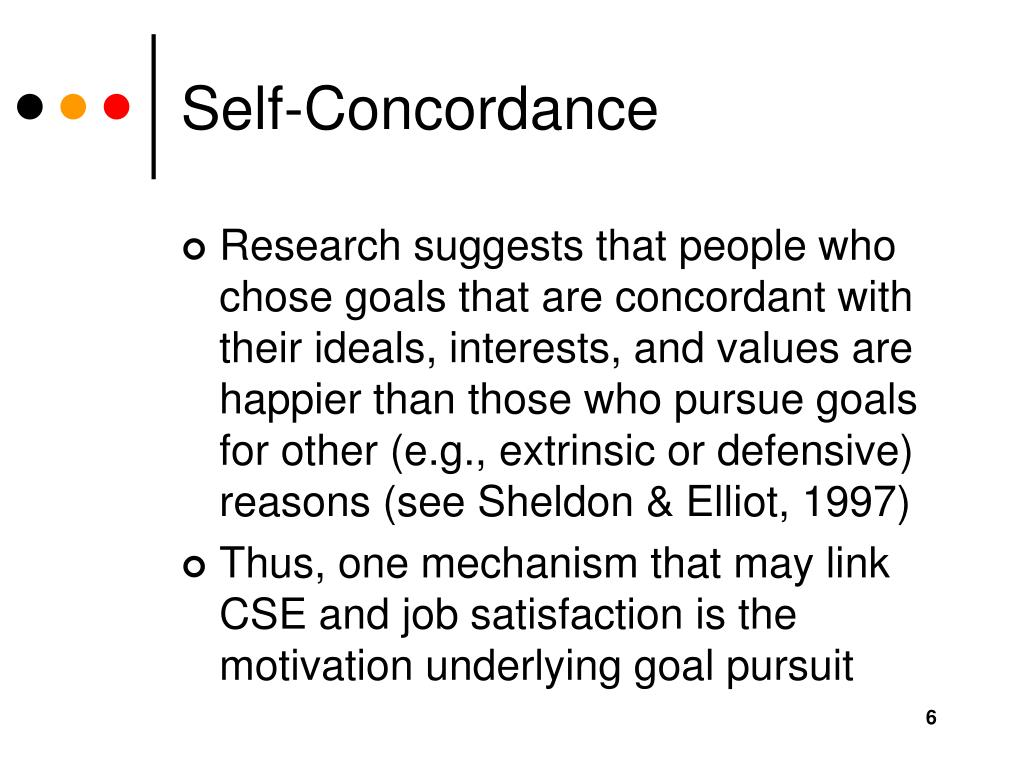 Self-Concordance