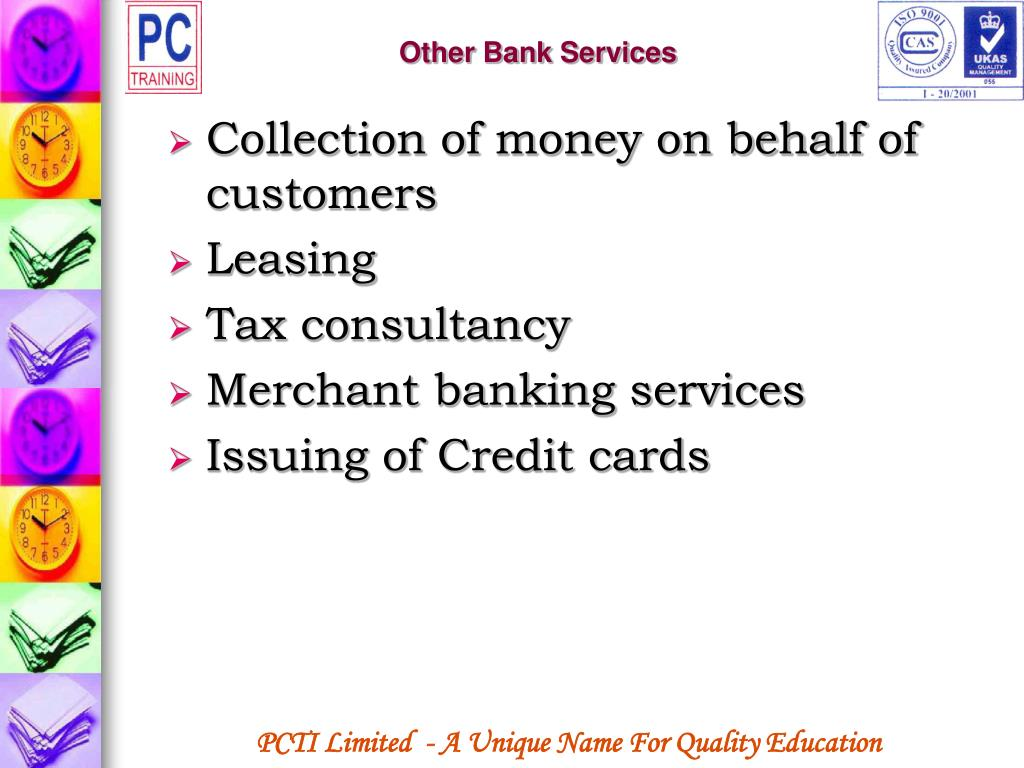 Other Bank Services
