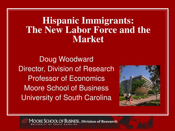 Hispanic immigrants the new labor force and the market