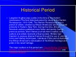 historical period
