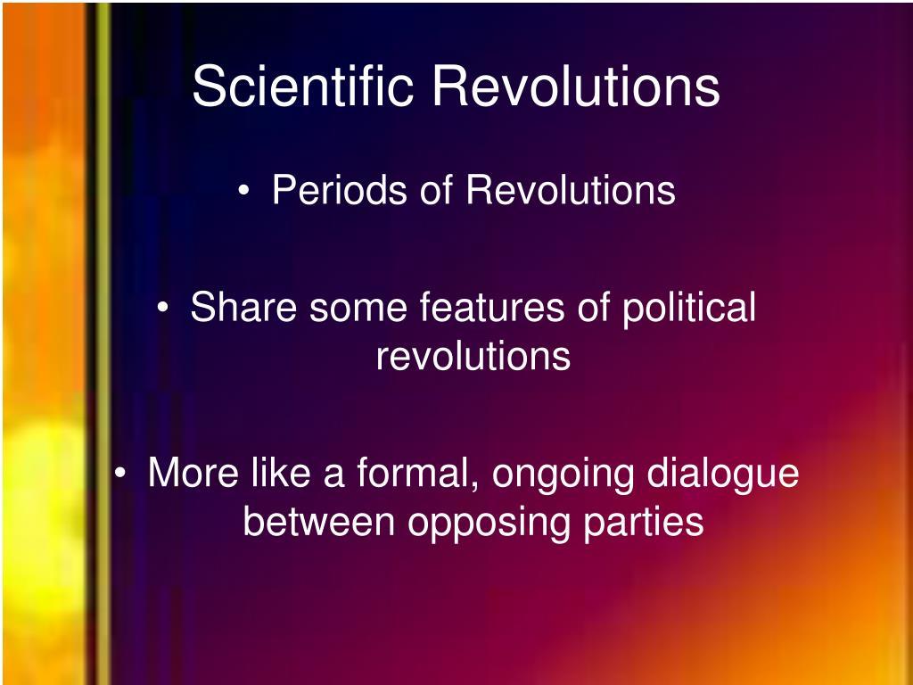 Scientific Revolutions