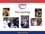 the coaching