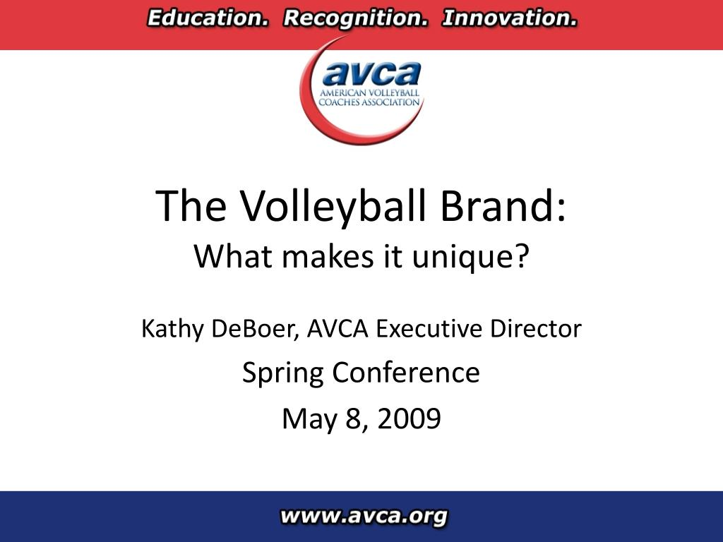 the volleyball brand what makes it unique l.