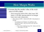 how margin works16