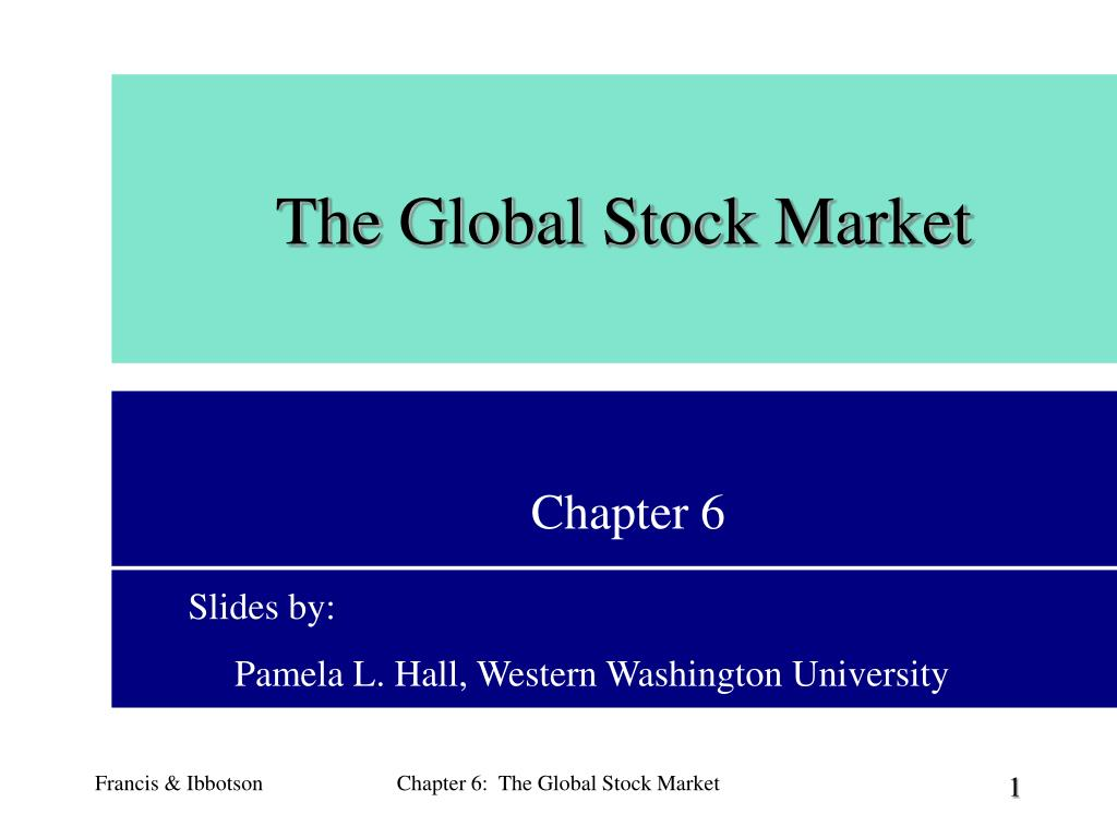 the global stock market l.