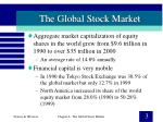 the global stock market3