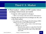 third u s market