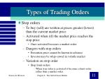types of trading orders11