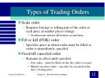 types of trading orders12