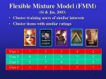 flexible mixture model fmm si jin 200311