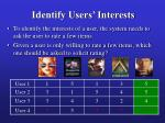identify users interests29