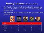 rating variance jin et al 2003a16