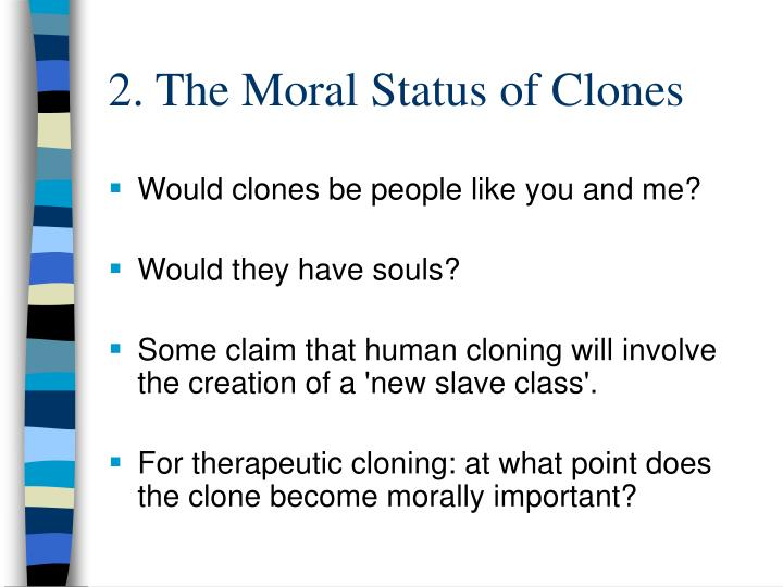 a close look at cloning essay A closer look at human cloning essay - cloning could be the answer to the pain and suffering of many people around the globe human cloning is the asexual reproduction or replication of a human being at any stage of development.
