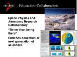 education collaboration