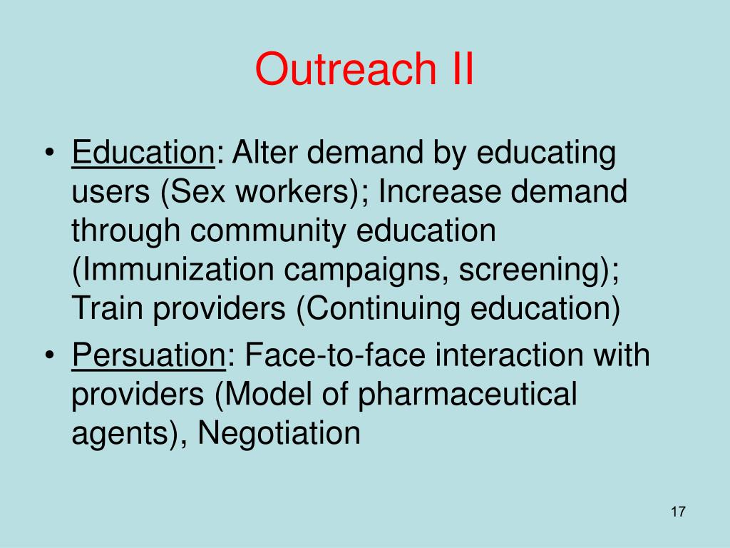 Outreach II