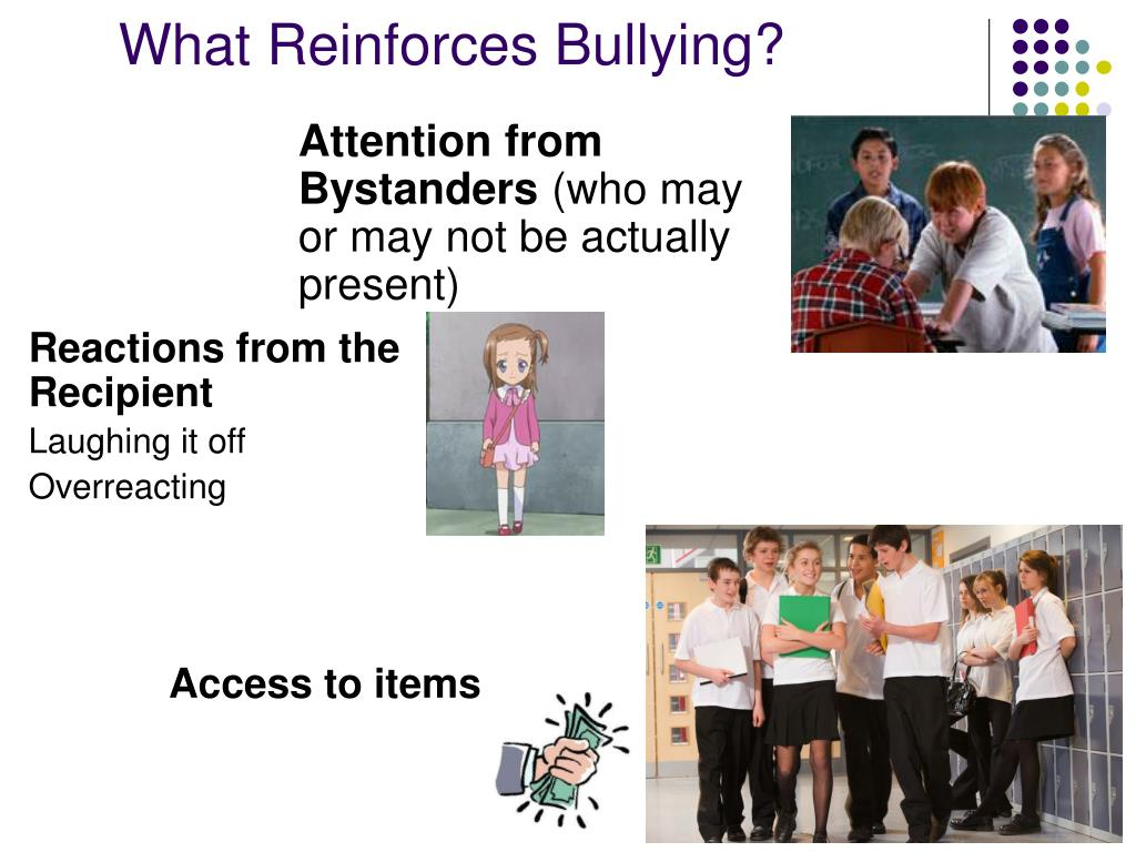 What Reinforces Bullying?