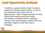 lead opportunity analysis10