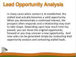 lead opportunity analysis7