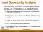 lead opportunity analysis8