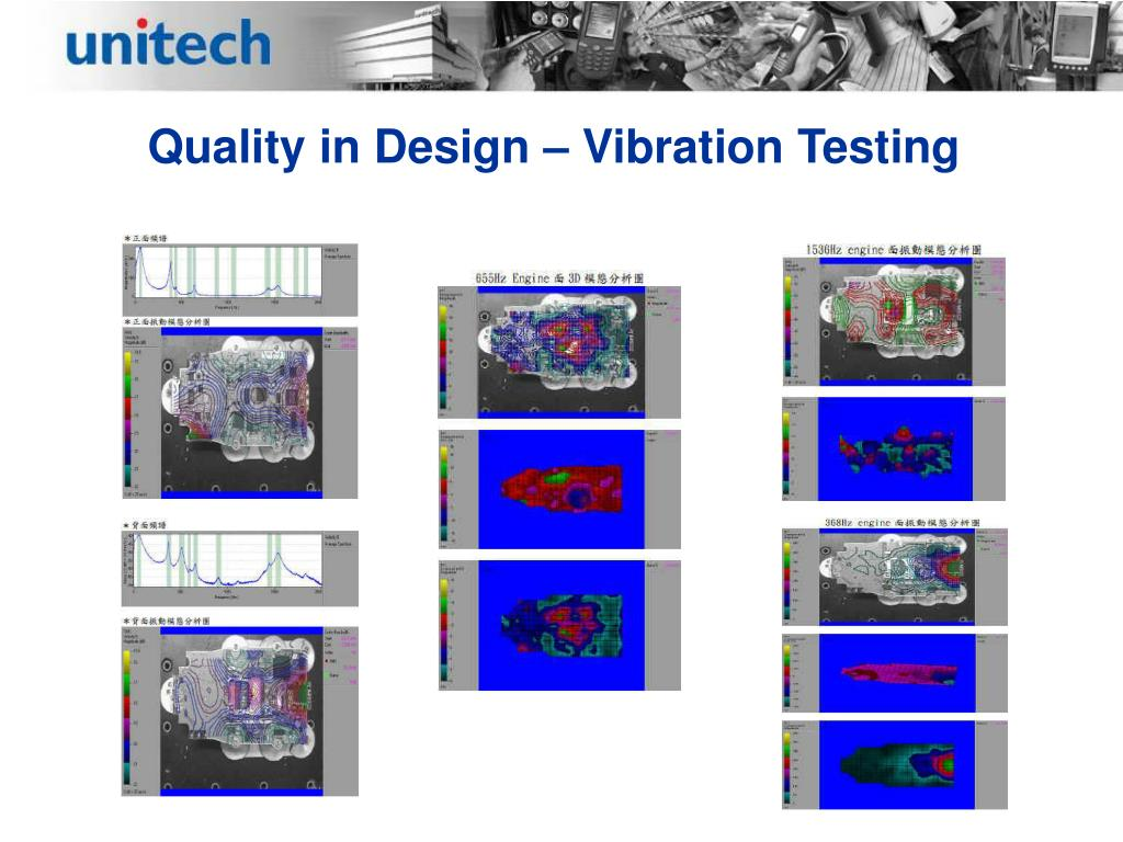 Quality in Design – Vibration Testing