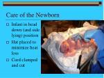 care of the newborn46