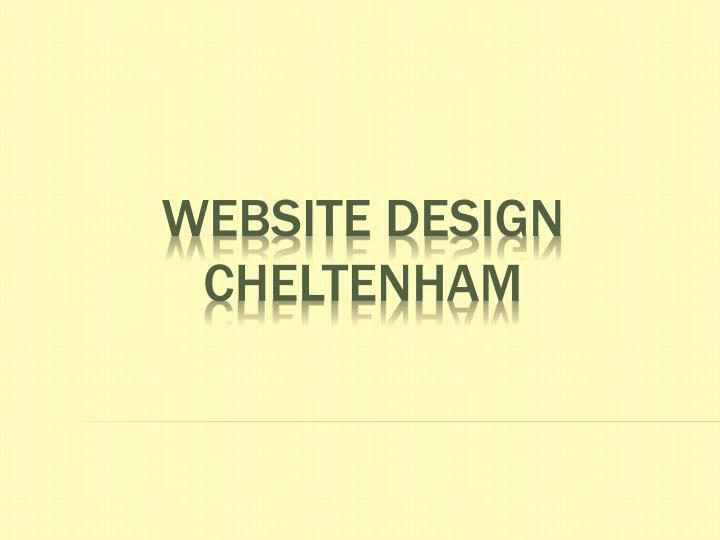 Website design cheltenham