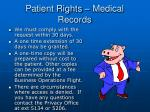 patient rights medical records