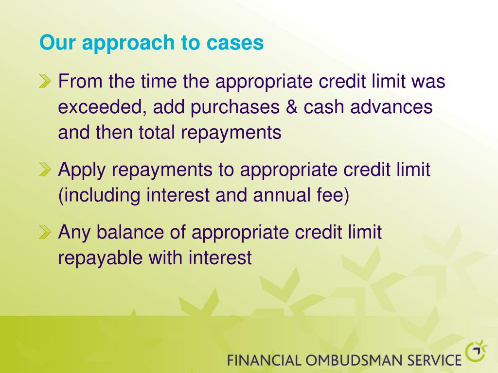 Our approach to cases