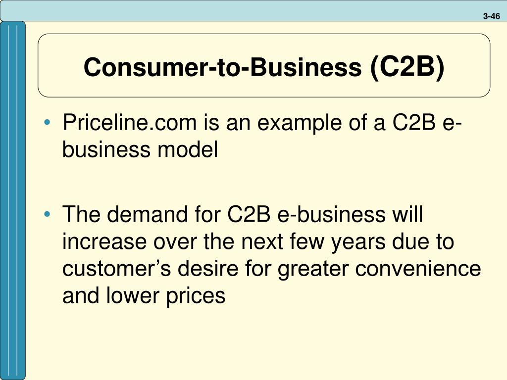 Consumer-to-Business