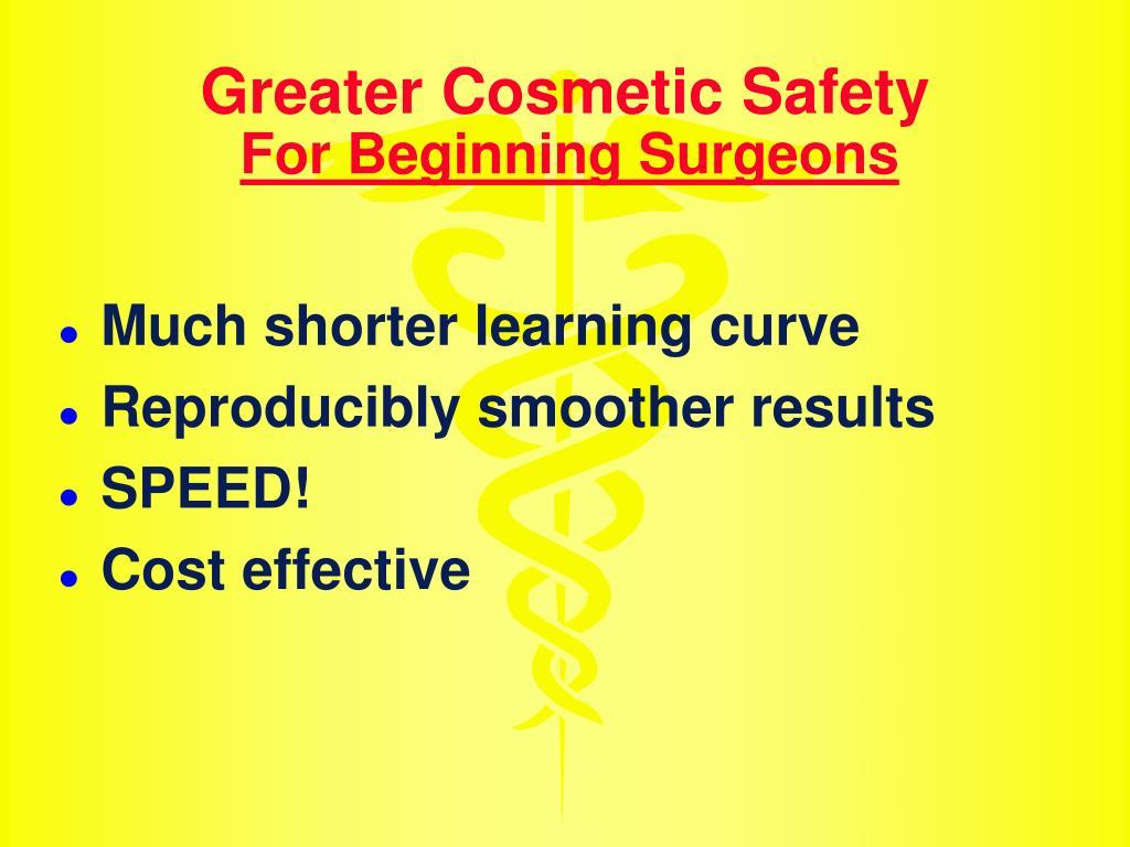 Greater Cosmetic Safety