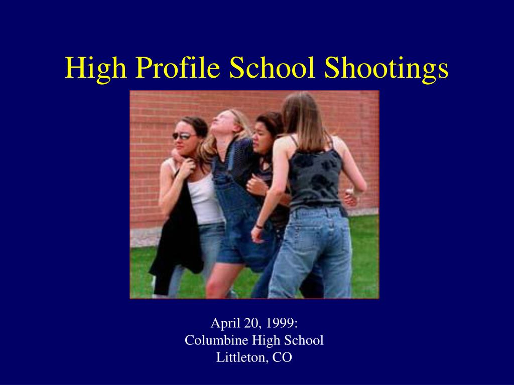 April 20, 1999: