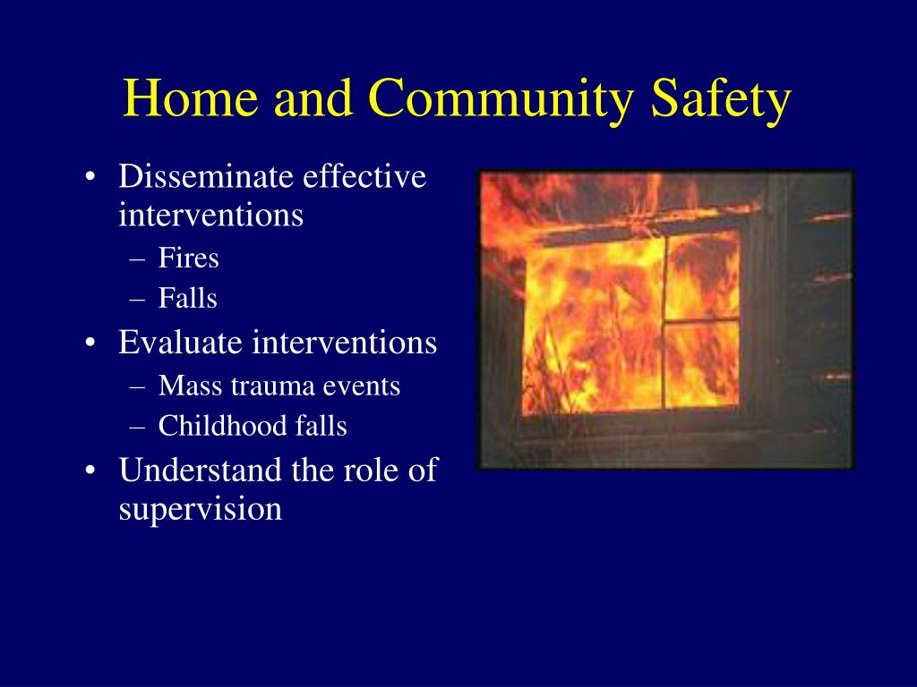 Home and Community Safety