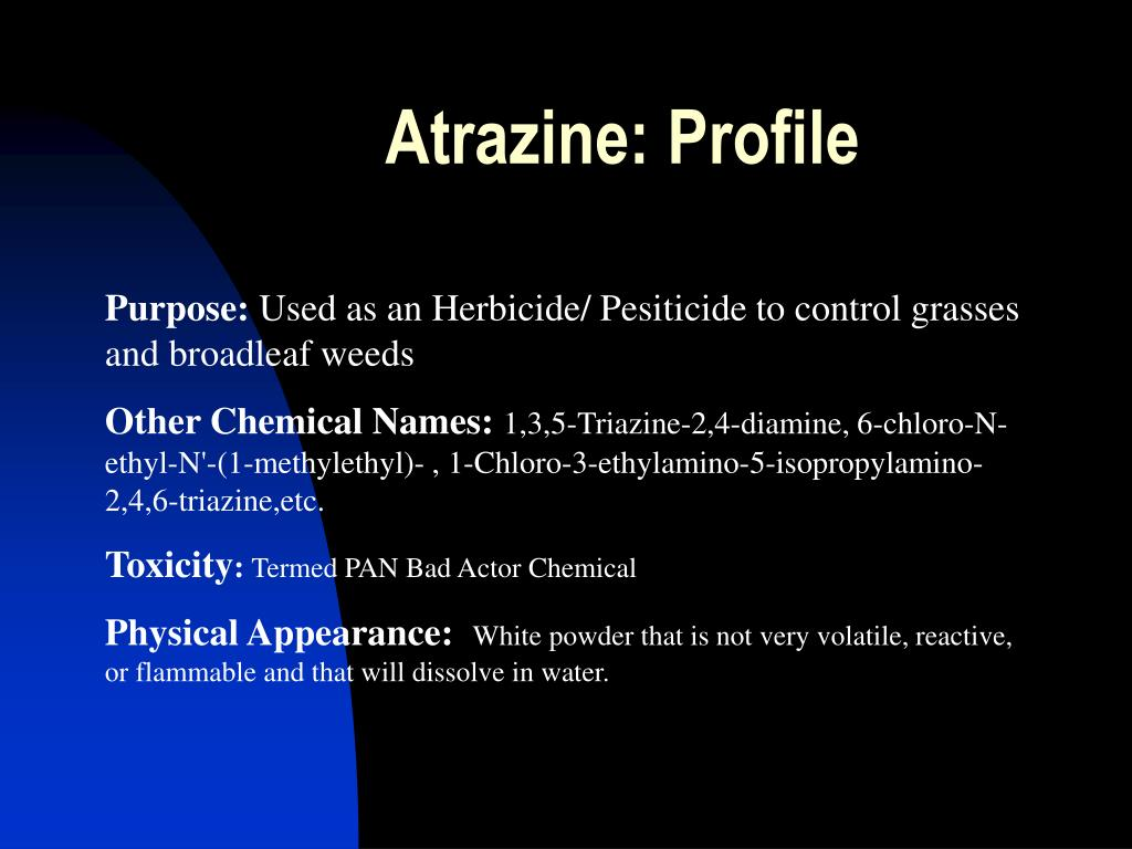 Atrazine: Profile
