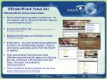 offenderwatch portal site