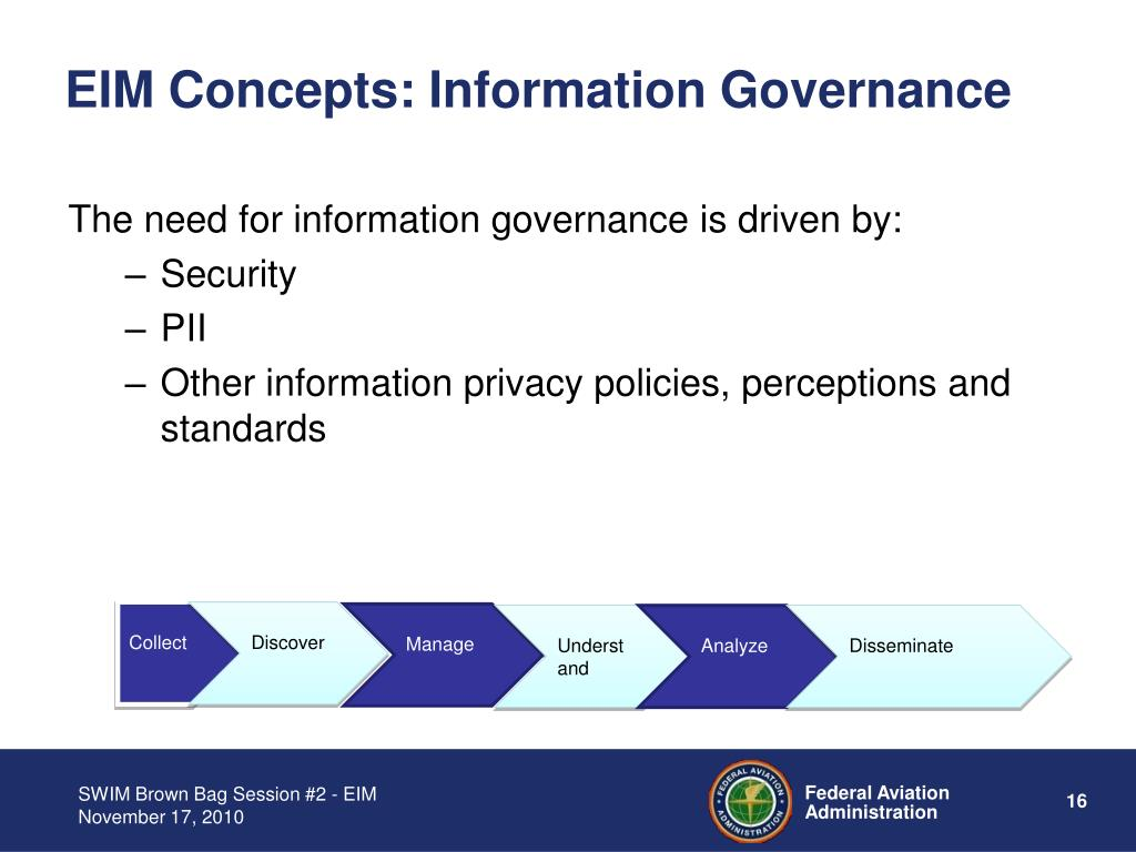 EIM Concepts: Information Governance