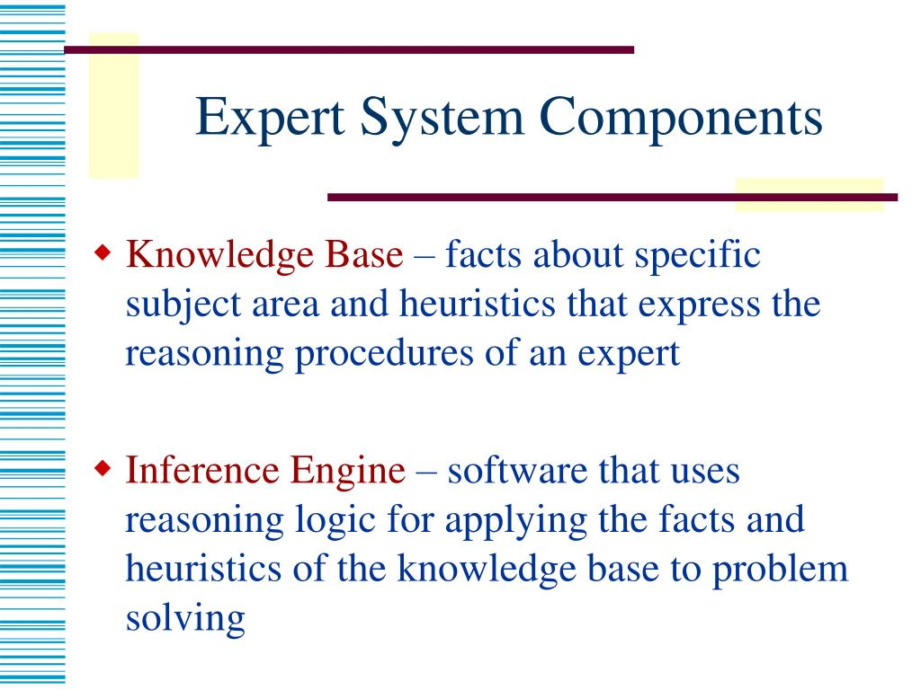 Expert System Components
