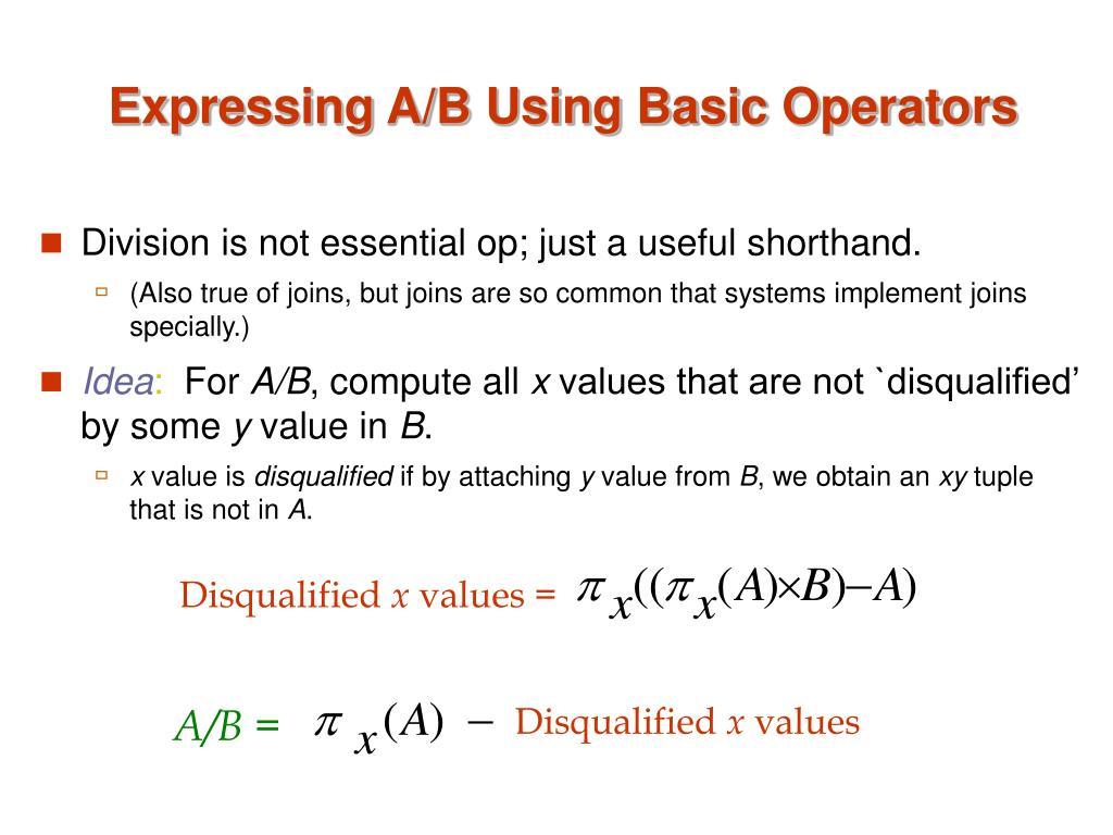 A/B =