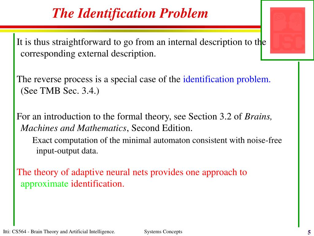 The Identification Problem