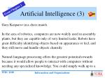 artificial intelligence 3