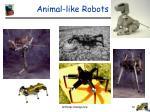 animal like robots