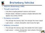 braitenberg vehicles
