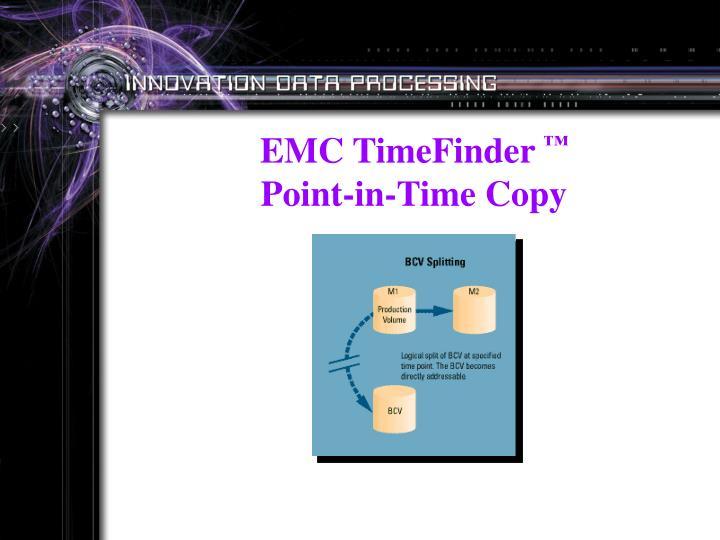 EMC TimeFinder