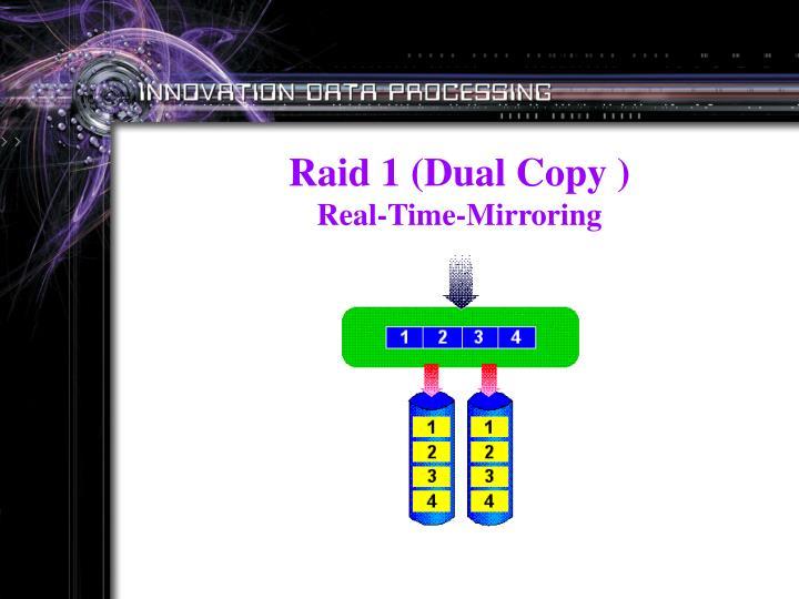 Raid 1 (Dual Copy )