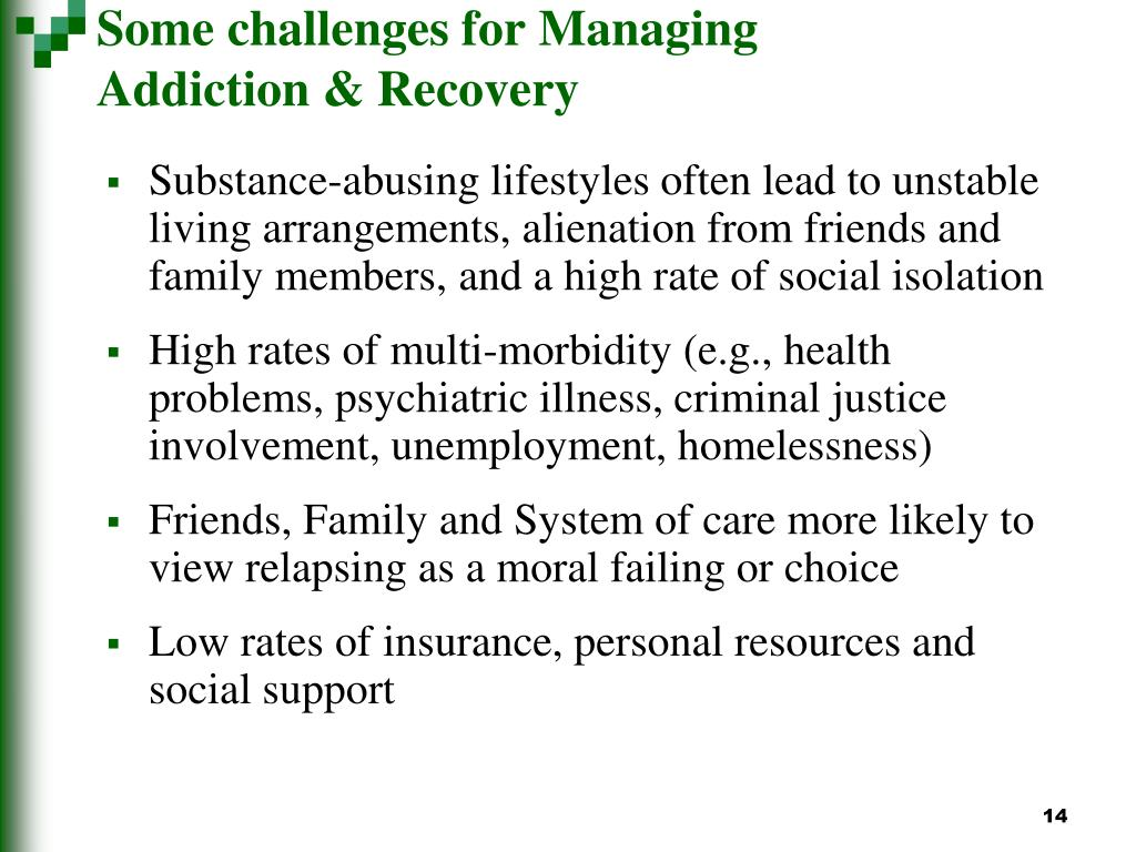 Some challenges for Managing