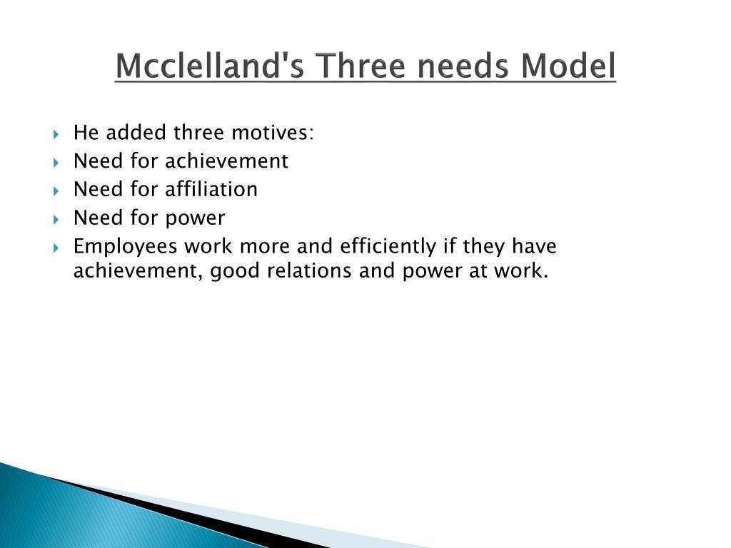 Mcclelland's